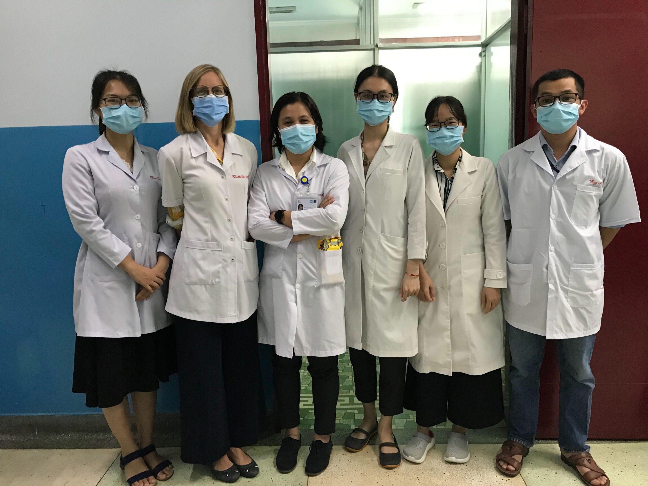 Welcoming new ultrasound team members