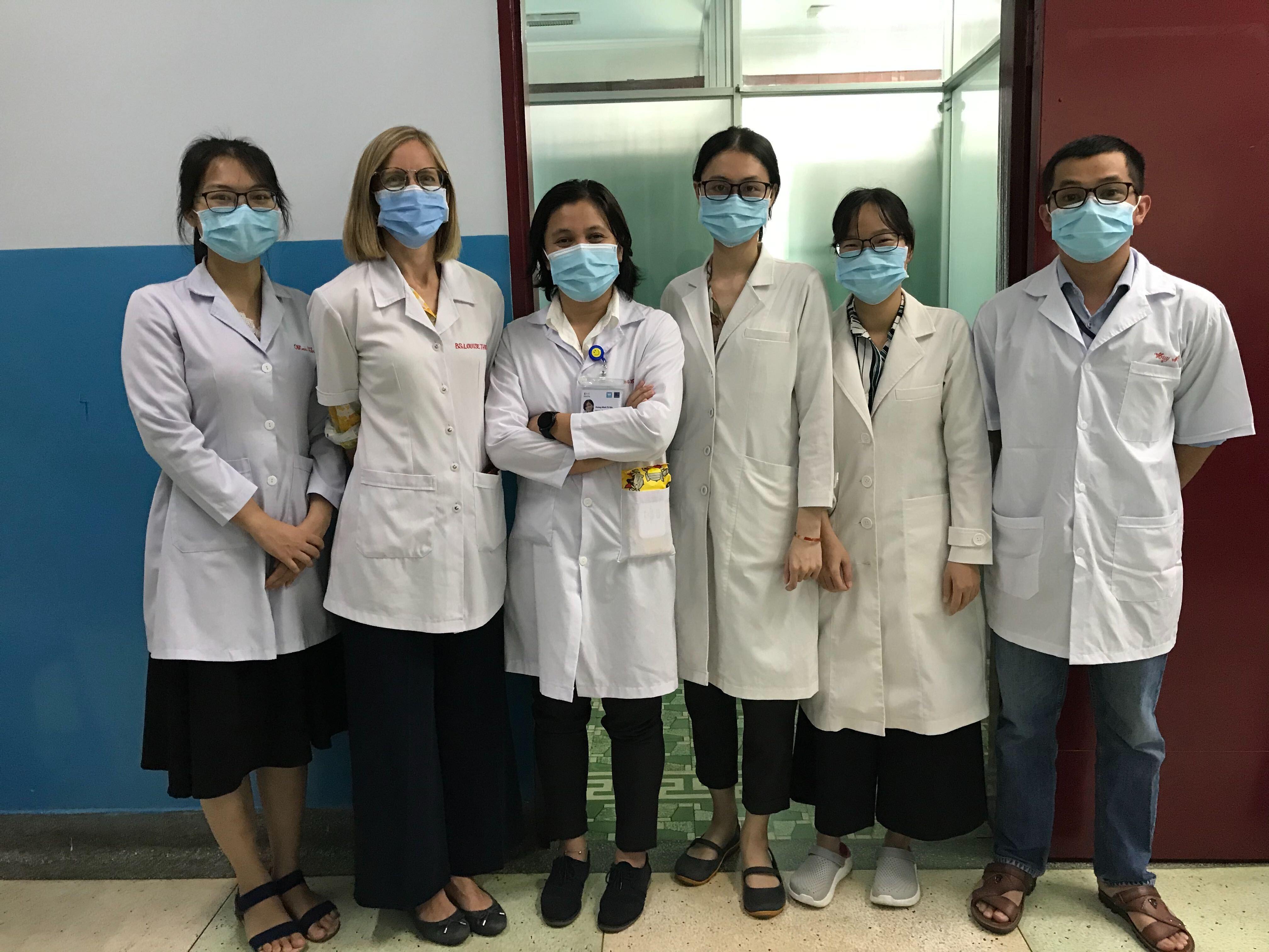 Chào đón 3 bác sĩ mới gia nhập nhóm siêu âm của dự án VITAL